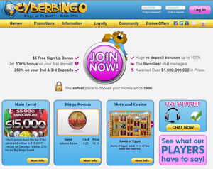 Cyberbingo welcomes USA Players