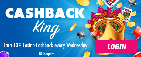 Cash back Wednesdays