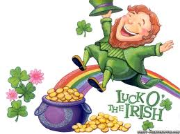 Luck o' the Irish celebrated Online